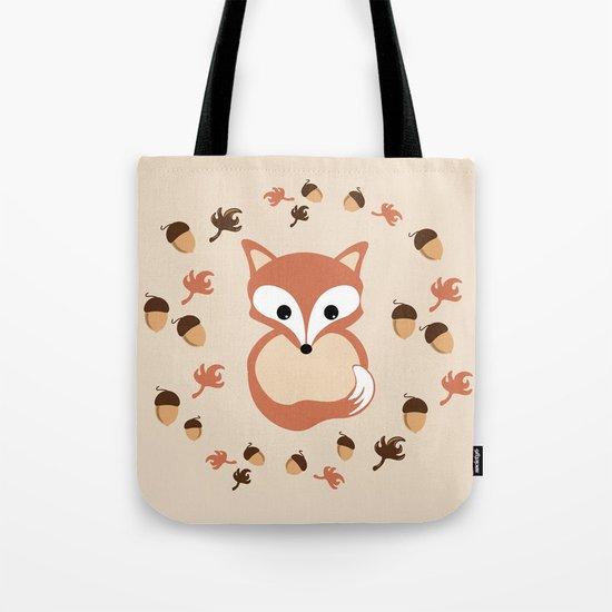 Fox in autumn Tote Bag