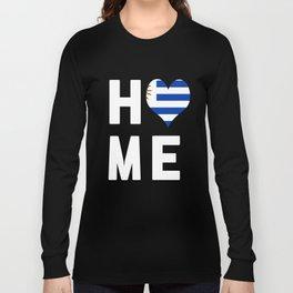 Uruguay Is My Home Tshirt Long Sleeve T-shirt