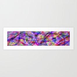 Color mayhem Art Print
