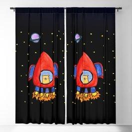 Impossible Astronaut Blackout Curtain