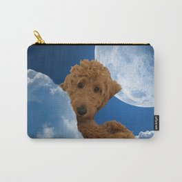 Dog Golden Doodle Carry-All Pouch