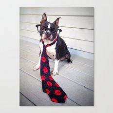 Gentlemen always wear ties Canvas Print