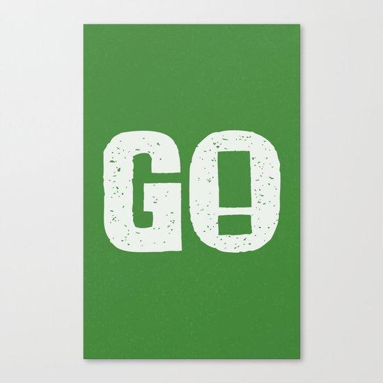 GO! Canvas Print