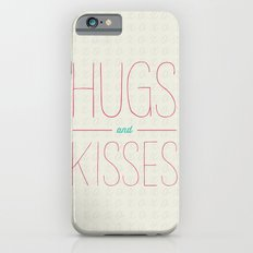Hugs and kisses iPhone 6s Slim Case