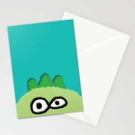 three little dinoes Stationery Cards