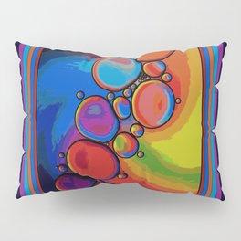 Rainbow Pebbled Pathway Pillow Sham