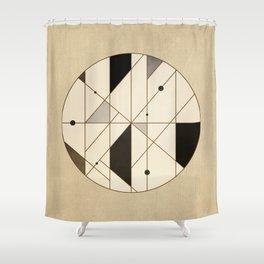 Irregular Sequence Shower Curtain