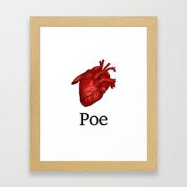 iPoe Framed Art Print