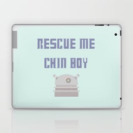 Rescue Me Chin Boy Laptop & iPad Skin