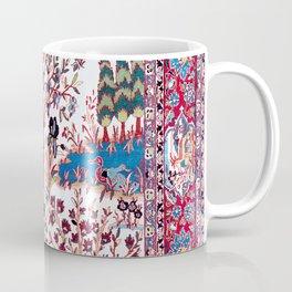 Esfahan Central Persian Silk Rug Print Coffee Mug
