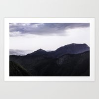 Art Print featuring Storms' Coming by Greacely Negron