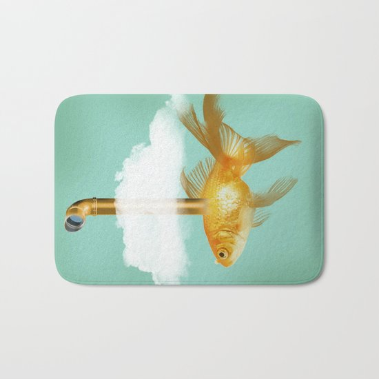 Periscope Goldfish Bath Mat