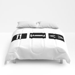 Eat, Sleep, Code Comforters