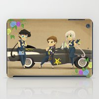 transistor iPad Cases featuring Retro Sailor Starlights by Crimson Pumpkin
