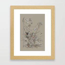 Grasslander Framed Art Print
