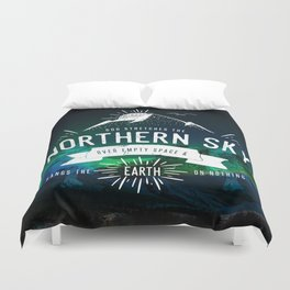 JOB 26:7 Duvet Cover
