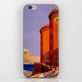 Napoli - Naples Italy Vintage Travel iPhone Skin