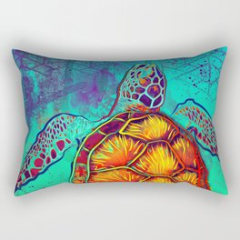 Swim in Eternal Seas Rectangular Pillow