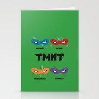 teenage mutant ninja turtles Stationery Cards featuring Teenage Mutant Ninja Turtles by DSCDESIGNS