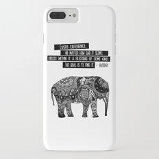 Blessing Buddha Quote Slim Case iPhone 7 Plus