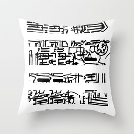 APATTERN Throw Pillow