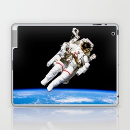 Astronaut Bruce McCandless Floating Free Laptop & iPad Skin