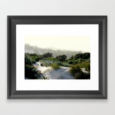 Mystic Sands Framed Art Print