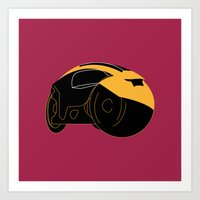 tron Art Prints featuring Tron by FilmsQuiz