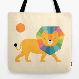 Lion Shine Tote Bag