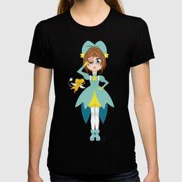 Mini Me Stars: Green Sakura T-shirt