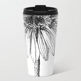 Echinacea Metal Travel Mug