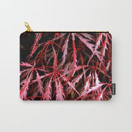 Maroon Maple Carry-All Pouch