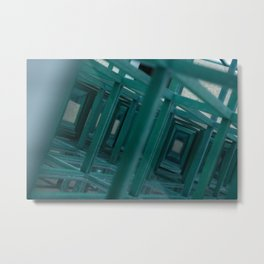 Abstract Chicago Metal Print