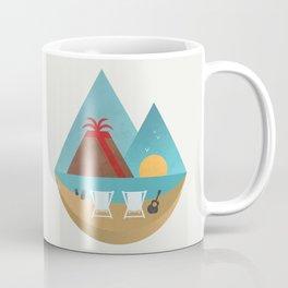 Volcano Sunset Coffee Mug