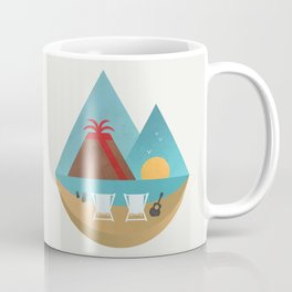 Volcano Sunset Coffee Mug