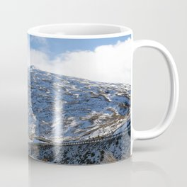 The Drive to Cardrona Ski Fields from Queenstown, New Zealand Coffee Mug