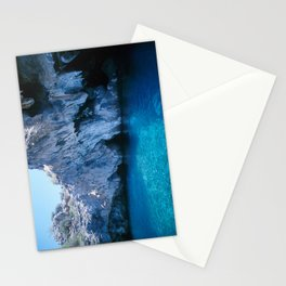 NATURE'S WONDER #5 - BLUE GROTTO (Turkey) #2 #art #society6 Stationery Cards