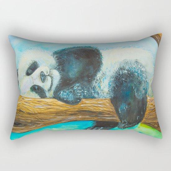 At rest Rectangular Pillow