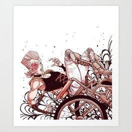 jean pierre polnareff Art Print