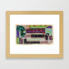 Casette Music 1981 Framed Art Print
