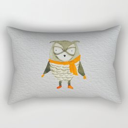 Wise Owl Forest Friends Baby Animals Rectangular Pillow