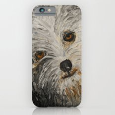 Because Dogs are Cute Slim Case iPhone 6s
