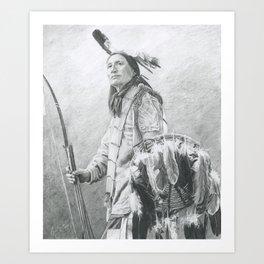 Taopi Ota - Lakota Sioux Art Print