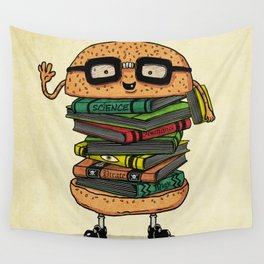 Geek Burger v.2 Wall Tapestry