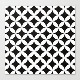 Shippo (cloisonne)Geometric Pattern Canvas Print