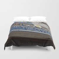 theatre Duvet Covers featuring Pittsburgh Tour Series - Theatre Marquee by Sarah Shanely Photography