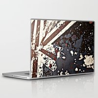 uk Laptop & iPad Skins featuring UK  by Kees