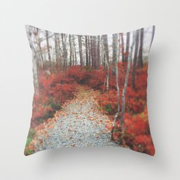 Autumn Wanderlust Throw Pillow