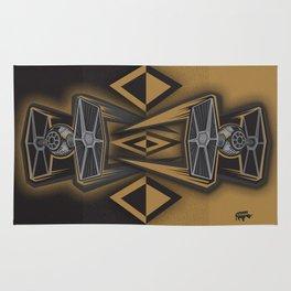 Golden Fighters Rug
