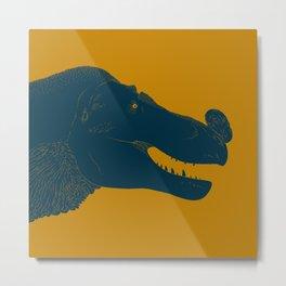 Tyrannosaurus rex in the Mood Metal Print